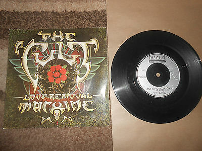 THE CULT    LOVE REMOVAL MACHINE       7inch vinyl