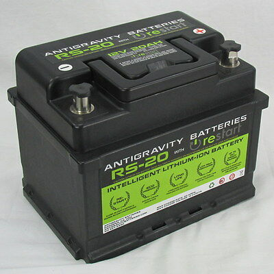 Antigravity RS-20 High Performance Light Weight Lithium Ion Automotive Battery