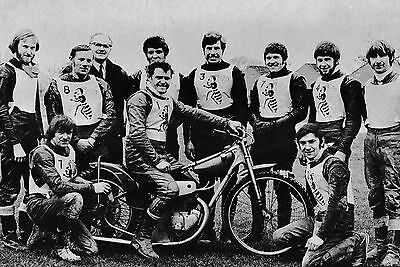 Coventry Bees 1971 Speedway Team Photograph