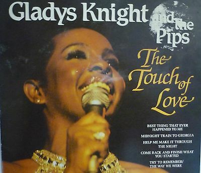 """Gladys Knight & The Pips - The Touch of Love  12"""" LP VGC"""