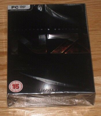Mass Effect 3 UK English PC Collectors Edition BBFC Limited New Sealed Mint
