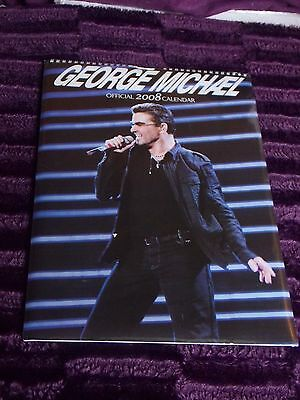 George Michael Official 2008 Calendar Sealed
