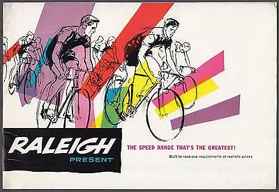Raleigh Cycle Bicycle Catalogue Brochure with Price List 1960