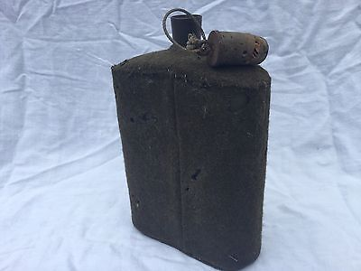 Original 1940 Army Water Flask With Original Stopper