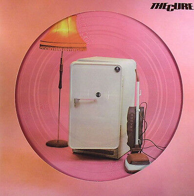 The Cure 'three Imaginary Boys'  Picture Disc Vinyl Lp - Brand New