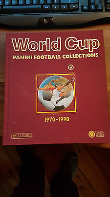 World Cup - Panini Football Collections 1970-1998  ETAT Neuf !!