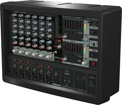 Behringer PMP560M 6 Channel Powered Mixer - NEW!