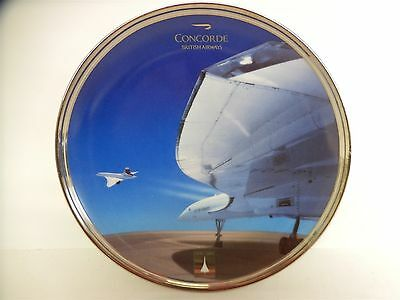 """Concorde Limited Edition Davenport Plate """"QUEEN OF THE SKIES"""" British Airways"""