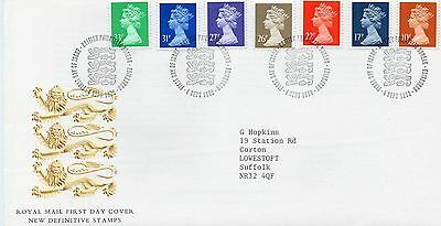 Gb Machin Definitive 1St Day Cover 4 Sept 1990