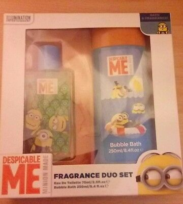 despicable me minion fragrance duo set