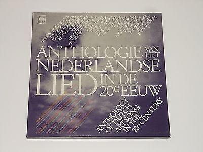 Anthology Of Dutch Art Song In The 20th Century - 5LP Box - DIEPENBROCK BADINGS