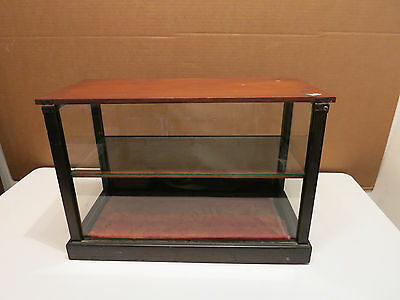 Vintage EARLY 1900's Wood and Glass Store Market Display Case - GREAT Piece SEE!