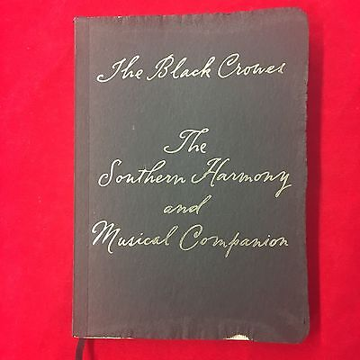 Black Crowes Rare Promo Poetry Hymn Book Southern Harmony Chris & Rich Robinson