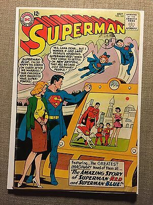 Superman #162. DC July, 1963. VG+ Red Superman And Blue Superman.