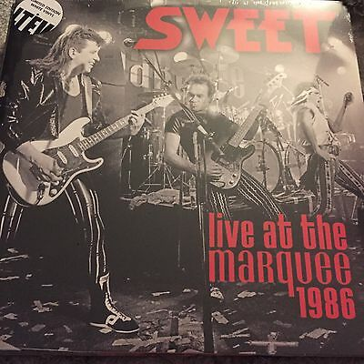 Sweet - Live At The Marquee 1986 2 x  White Vinyl LP - New and Sealed