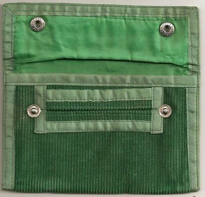 NEW  Famous Green Baccy Tabacco Pouch Free Postage