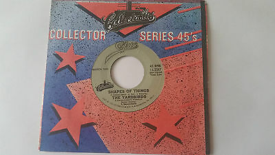 """The Yardbirds Shapes Of Things / I'm A Man Collectables Usa 7"""" Vinyl"""