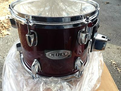 Mapex M Series Rack Tom - 10 inch  Transparent Cherry Red