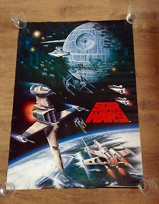 "Original Star Wars Single Sided US One Sheet Poster 38"" X 27"" 1996 Collectable"