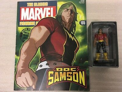 Classic Marvel Figurine Collection Eaglemoss 1-200 #105 Doc Samson New