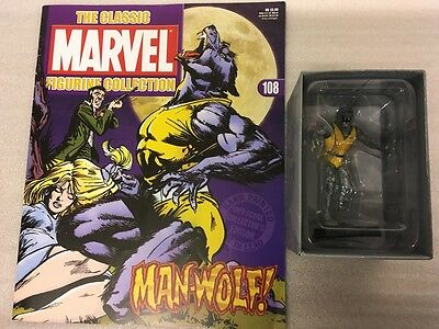 Classic Marvel Figurine Collection Eaglemoss 1-200 #108 Man-Wolf New