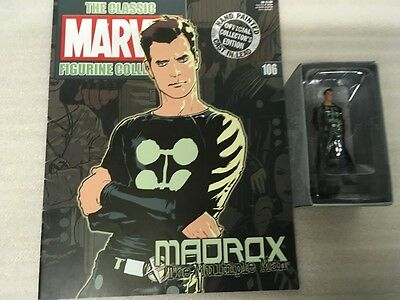 Classic Marvel Figurine Collection Eaglemoss 1-200 #106 Madrox New