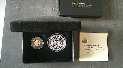Coffret 20 euro Or + 10 Euro Argent 2007 Irlande Celtic Influence Europe Complet