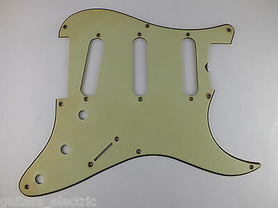 Relic Aged MINT GREEN 8 hole PICKGUARD #4 fits 1959 Fender Stratocaster