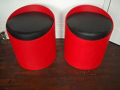 Vintage retro  1960's  pair of  chairs