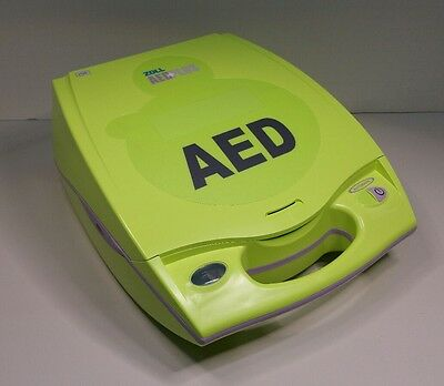 NEW Zoll AED Plus Defibrillator w/ Carry Case & Pads & Batteries