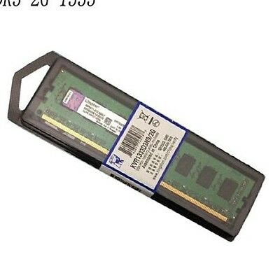 Kit Ram 4gb ddr3 (2x2GB) Kingston kvr1333d3n9/2g