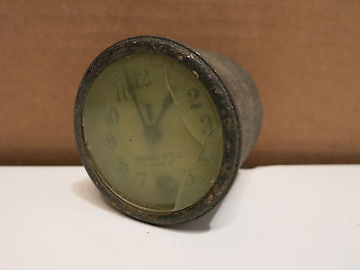Vintage Honeywell Type R Clock For A Thermostat Or Thermometer