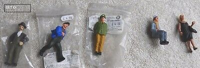 A set of figures people for G scale gauge LGB garden railway SET O