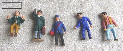 A set of figures people for G scale gauge LGB garden railway SET L