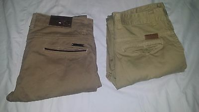 Ralph lauren polo & Tommy MILFIGER two jeans 100% coton Size 31/32 mens clothing
