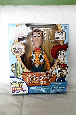 Toy Story Woody's Roundup Talking Sheriff Woody Doll WITH BOX