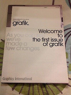 grafik design magazine First Issue 2003 gc