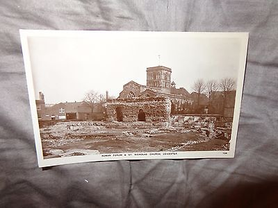 Leicester St Nicholas Churc Leicester, C192   real photograph POSTCARD HOLMES 1S