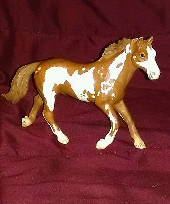Schleich 2006 Paint Stallion Retired Horse Figure