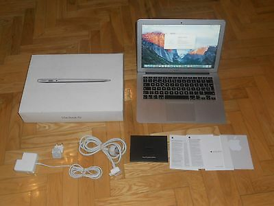 "MACBOOK AIR DE 13"" CORE i5 A 1,6 GHZ, HD GRAPHICS 6000, 4 GB SDRAM, 128 GB FLASH"