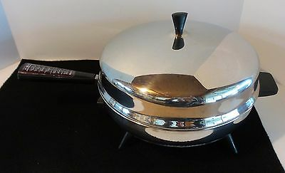 Farberware High Dome Electric Stainless Steel Fry Pan Skillet 310-B