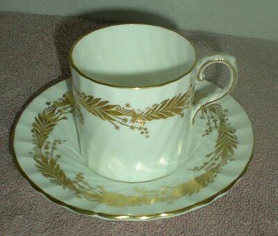 Aynsley Bone China Demi Tasse Cup/saucer - Kent 8170