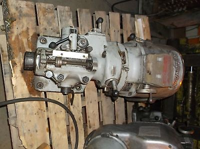 Bridgeport Milling Head 2 HP with Quick Change 30 Spindle