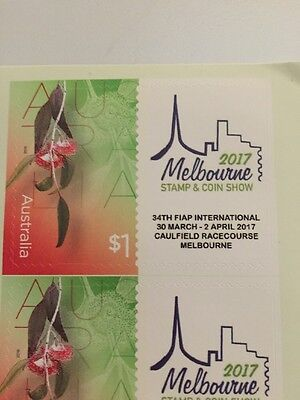 Australia 2017 Melbourne Stamp And Coin Show Stamp Self Adhesive MNH