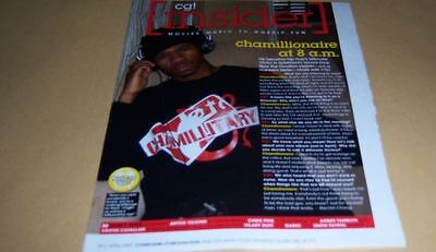 Chamillionaire 1 pc Clippings Article Full Page