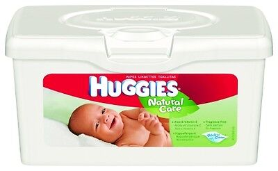 Huggies Natural Care Baby Wipes, 256 Total Wipes 64 Count (Pack of 4) #39301