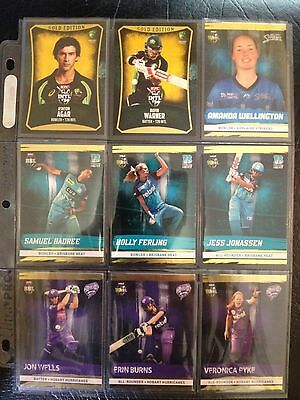 2016/17 Tap N Play BBL Cricket Gold Card