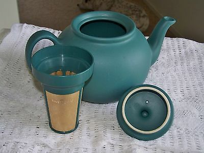 Collectable Vintage Very Rare Swissgold Tea Pot With Swissgold Tea Infuser