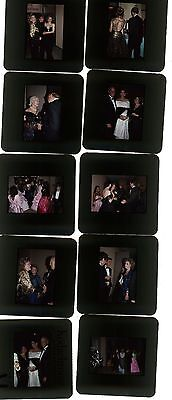 35mm photo slides Celebrity Carousel of hope Hollywood Los Angeles Lot of 10 #2