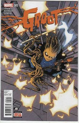 Groot #5 1st full appearance of Baby Groot!